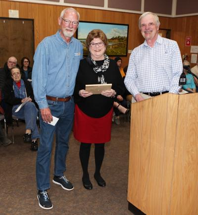 Robersons named Volunteers of the Month