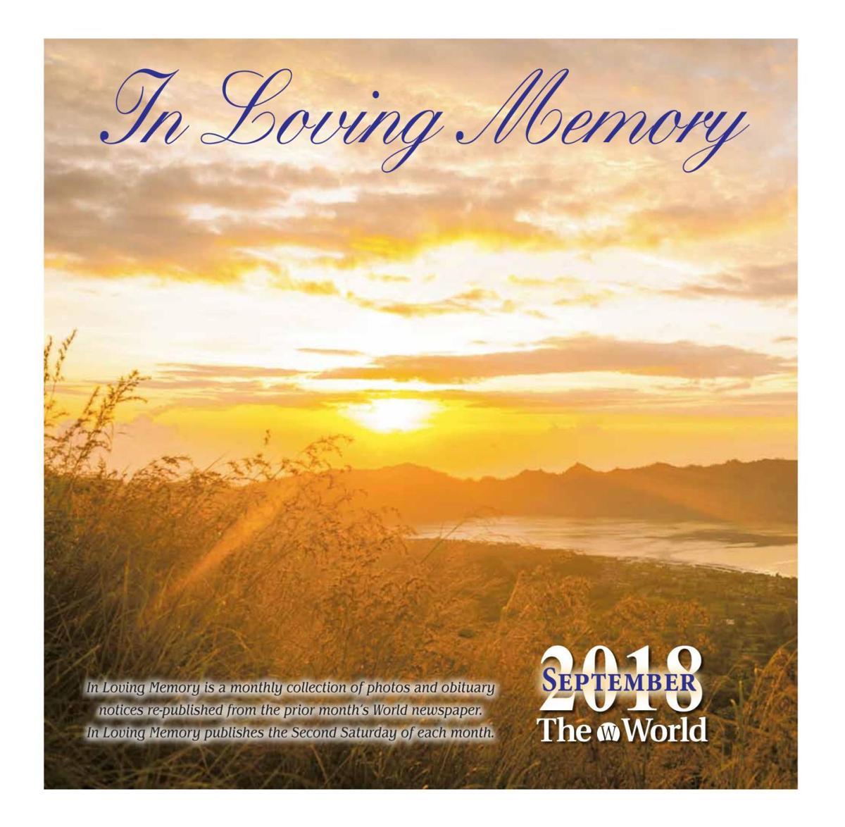 in loving memory september 2018 archive