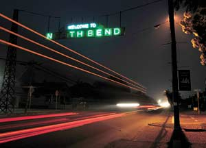 N(or)th Bend welcomes overhaul of neon sign