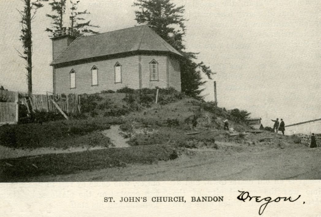 St. John Episcopal Church, circa 1900