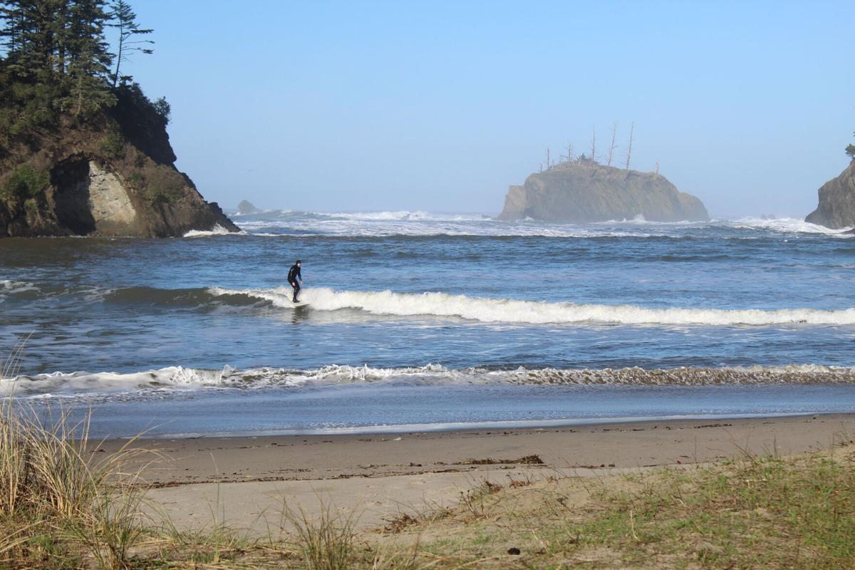 King Tides surfer