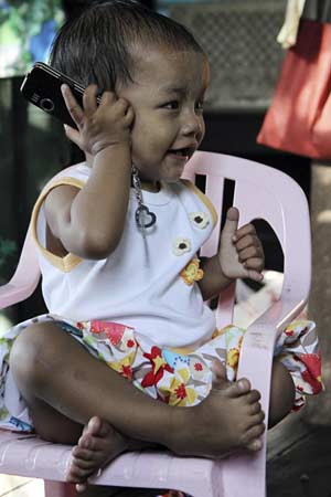 Myanmar girls has 12 fingers, 14 toes