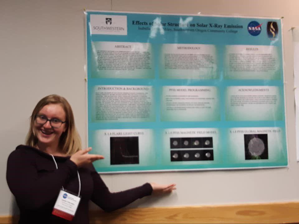 NASA-funded research at SOCC - Isabella Trifilo-Miley