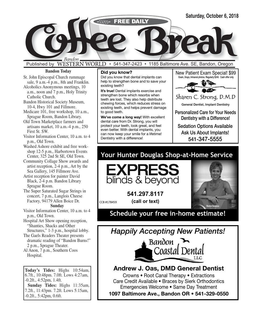 Oct. 6, 2018 Coffee Break.pdf