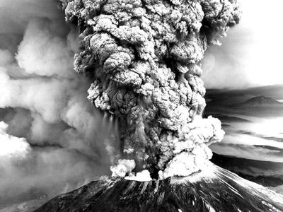 Mount St. Helens eruption, May 18, 1980