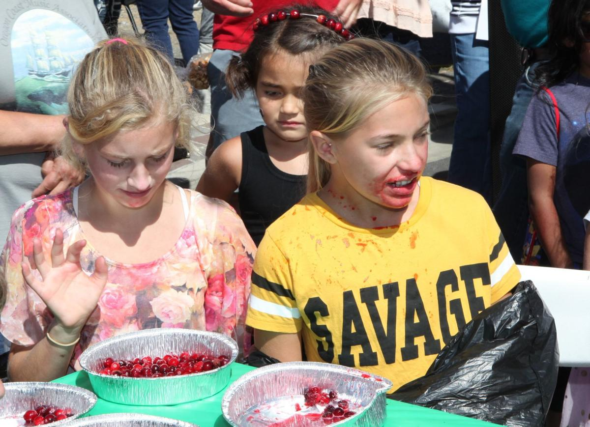 Cranberry Eating Contest