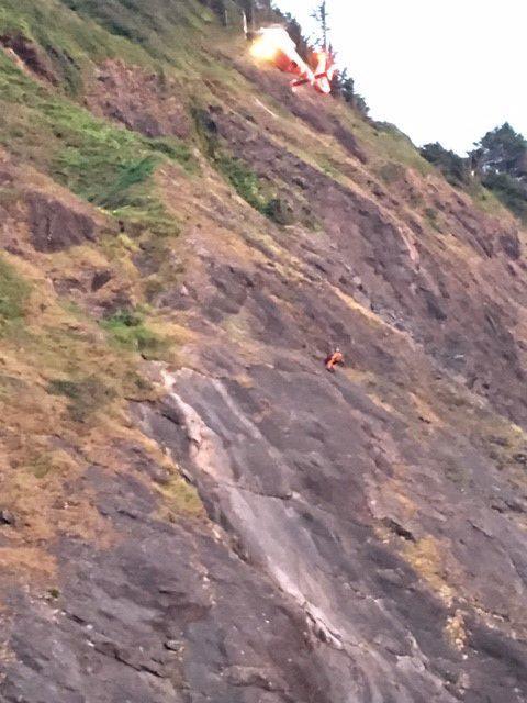 Man rescued at Humbug Mountain