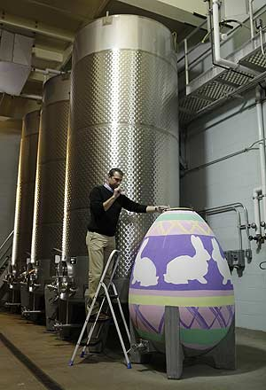 Egg rounds out flavor of wine