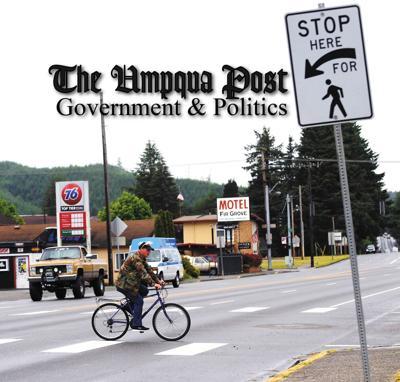 Umpqua Post Government and Politics STOCK