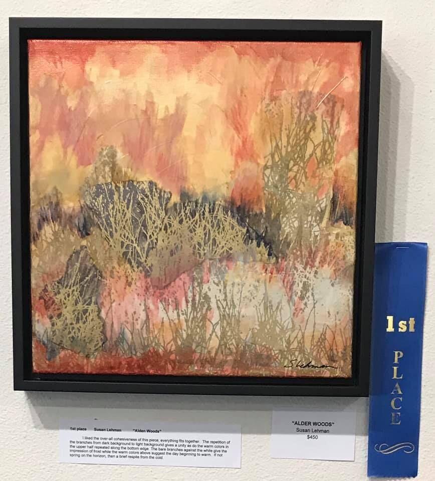 'Alder Woods' by Susan Lehman