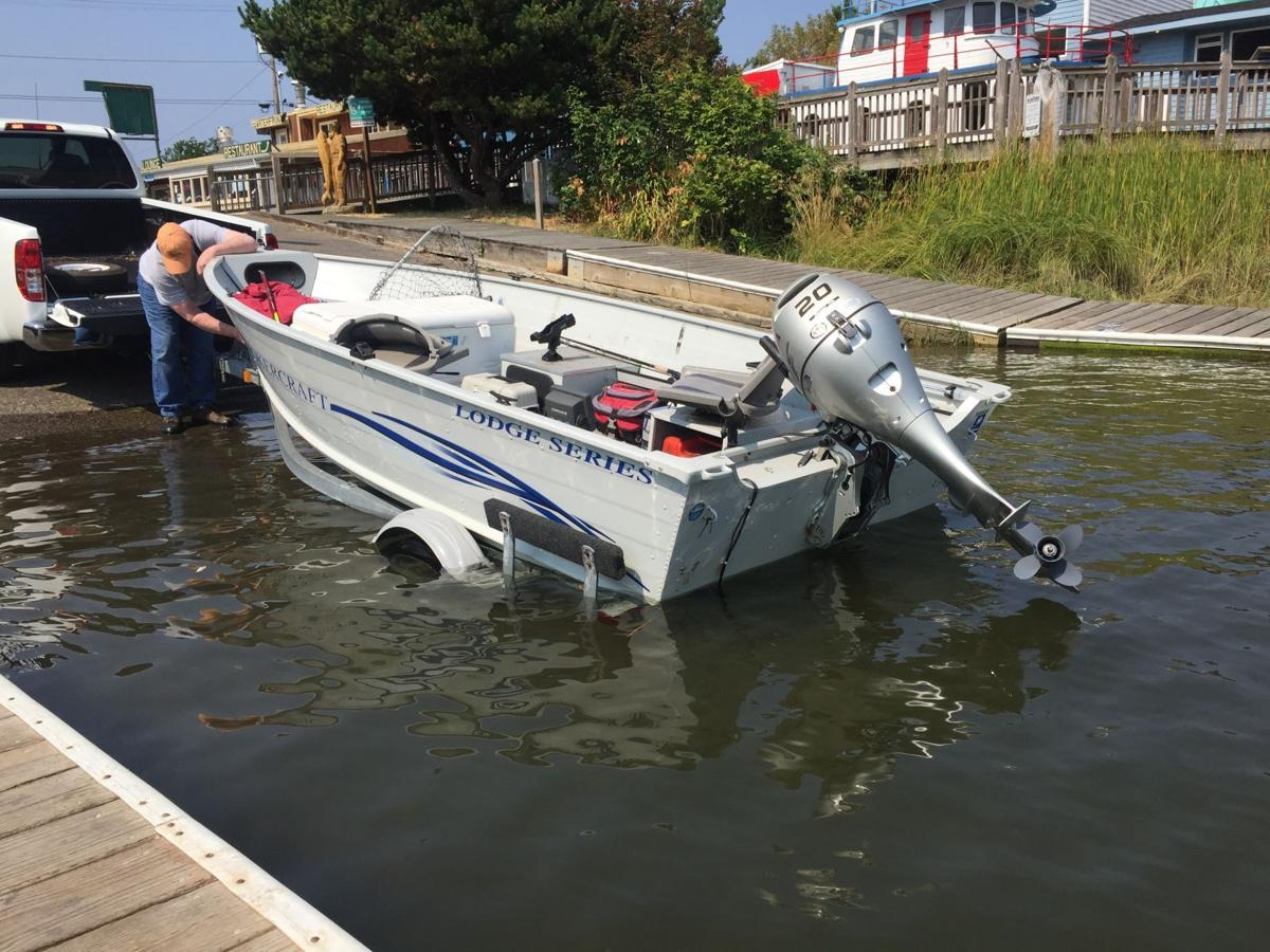 Boat launch one