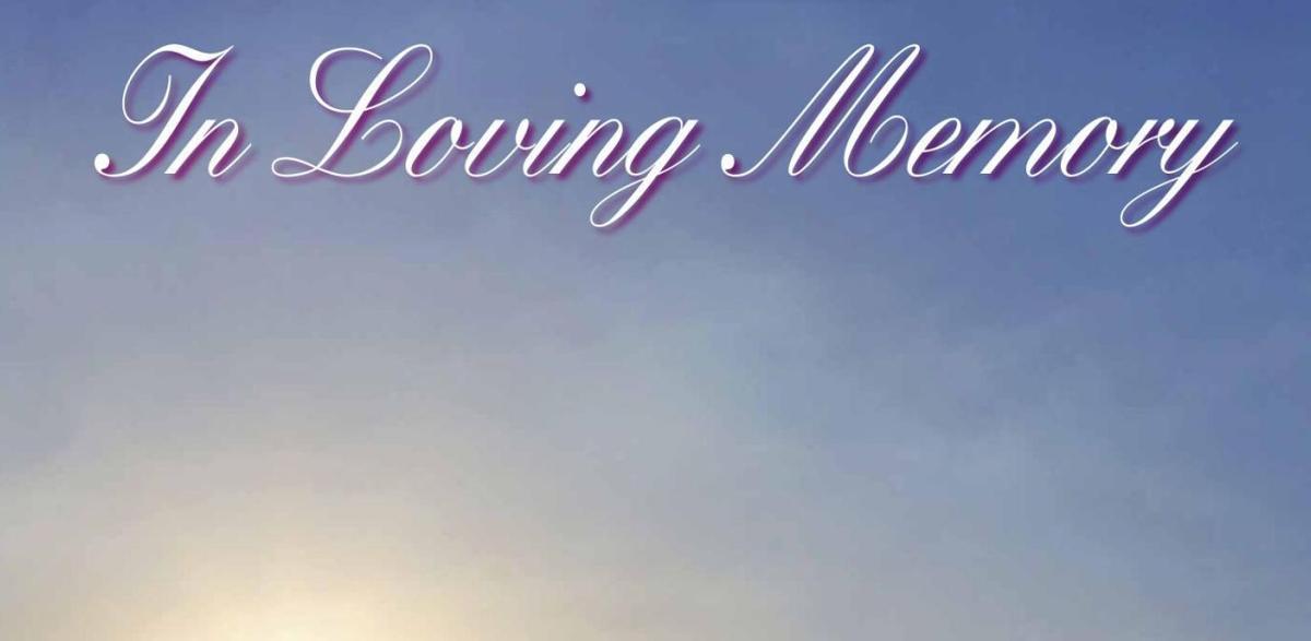 In Loving Memory July 2017