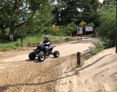 Spinreel ATV trails