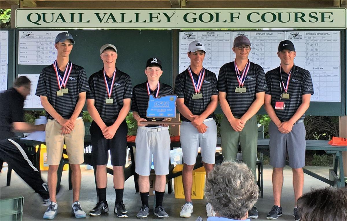 Bandon High School boys golf team