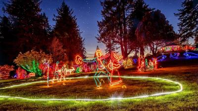 Nature's Coastal Holiday Festival of Lights in Brookings