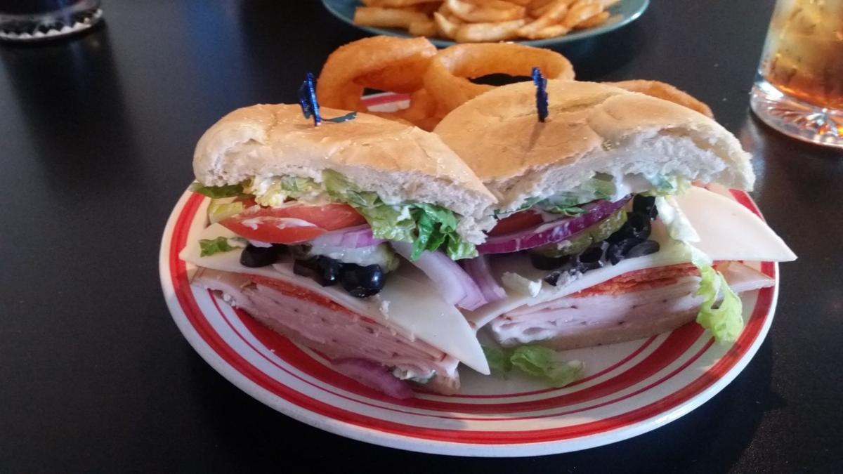My Uncle Sal sandwich at Spruce Street