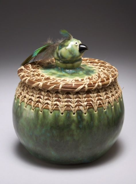 Ceramic art by Jean Ochsner