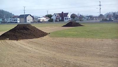 Reedsport baseball field
