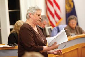 Resident cites inaction to start a recall petition
