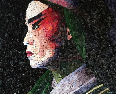 Bandon Library Art Gallery 5th annual Mosaic Show