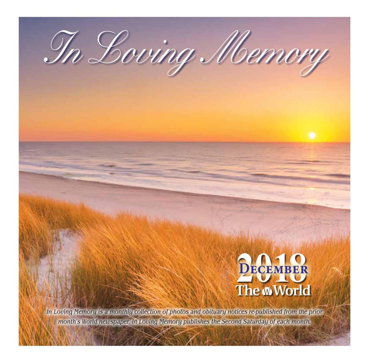 In Loving Memory December 2018