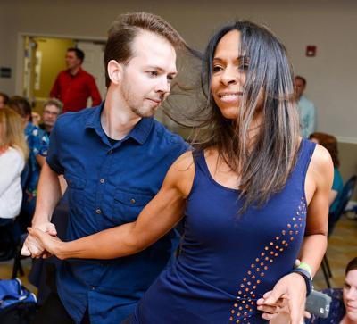 Brett Granstrom, Spark Up Dance and dance partner Keri