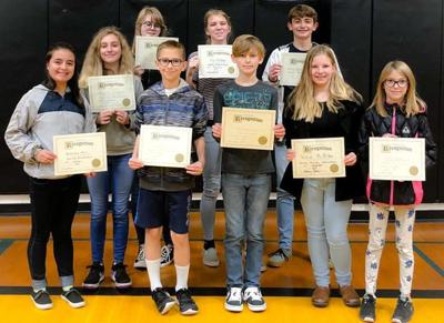 HLMS November Students of the Month