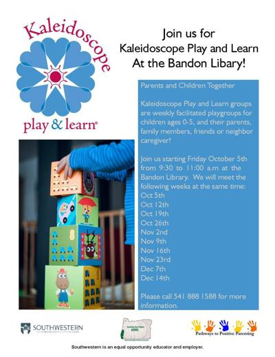 Kaleidoscope Play and Learn Group