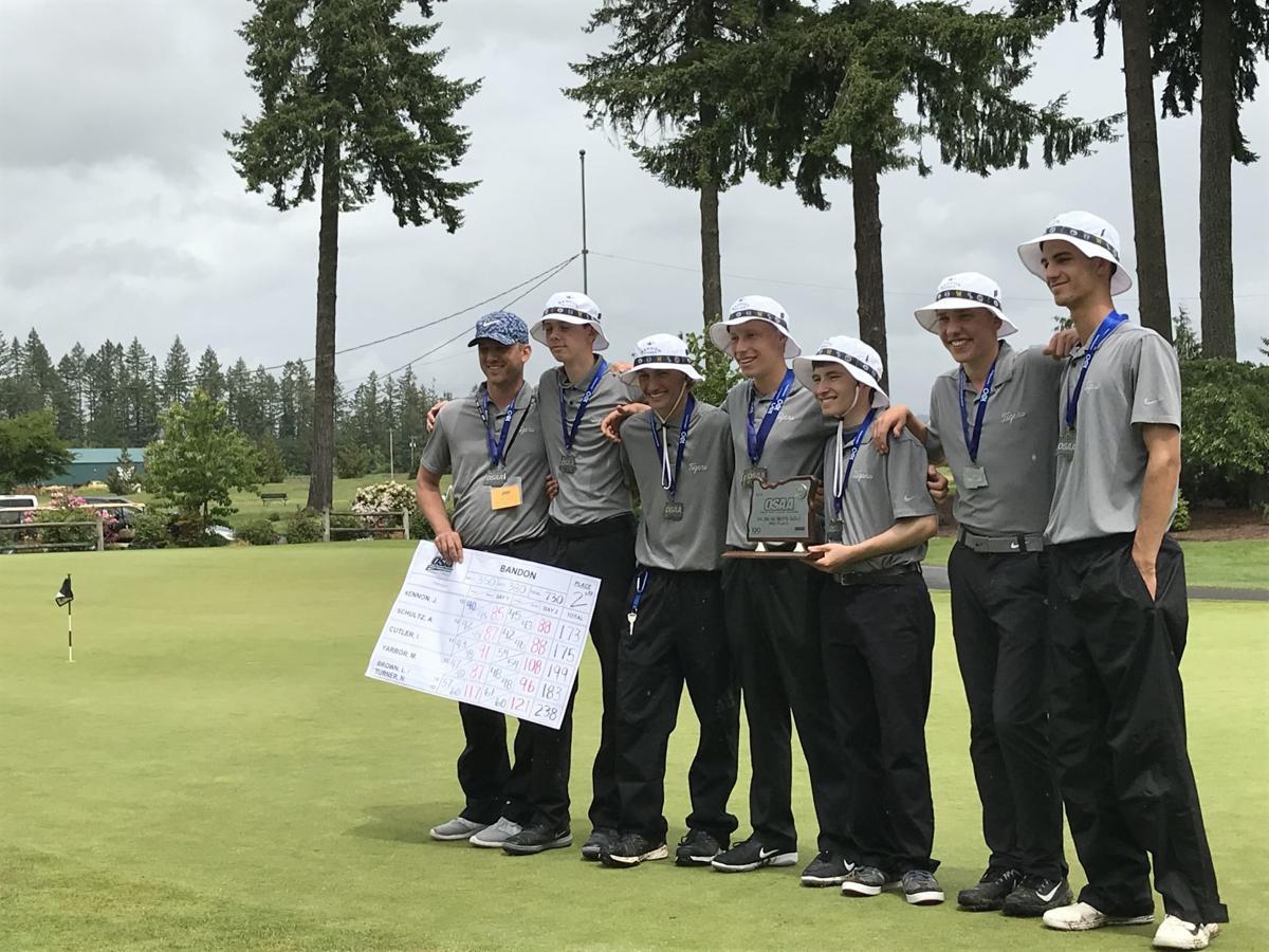 Bandon boys golf team