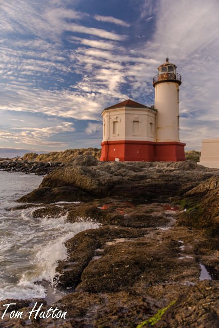 Lighthouse photo by Art by the Sea featured artist Tom Hutton