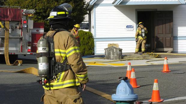 Prayer chapel fire