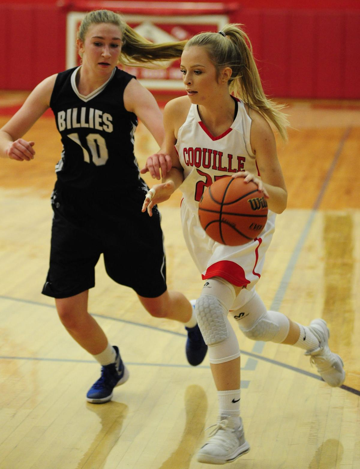 Coquille girls hold on against Pleasant Hill, 50-46