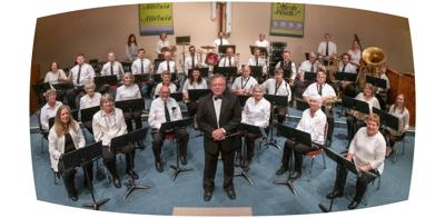 2018-19 photo Bay Area Concert Band