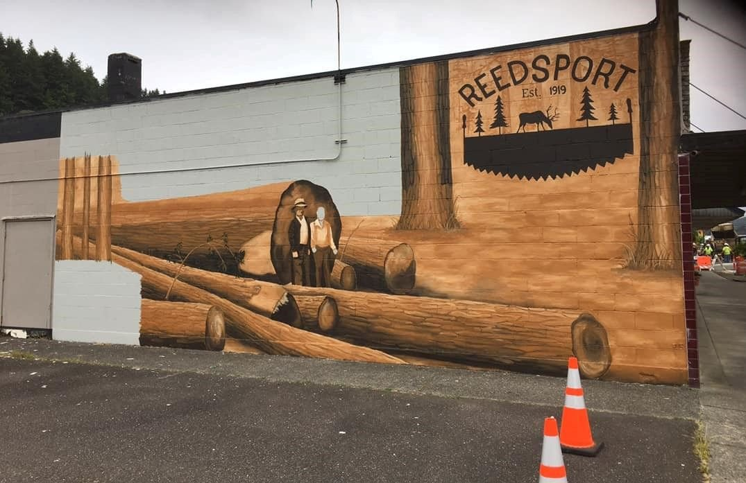 Reedsport Main Street