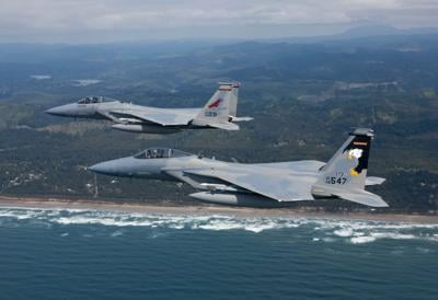 173rd Fighter Wing F-15 Eagles
