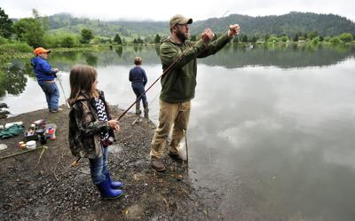 Kid Fishing in Powers