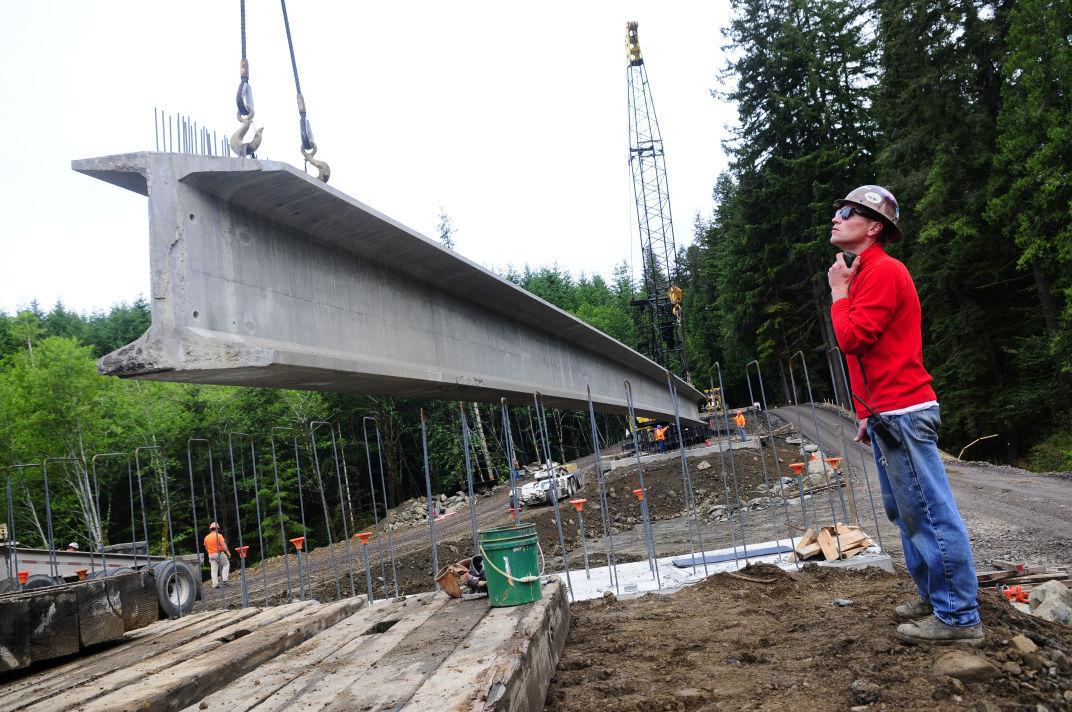 Weyerhaeuser Bridge Construction