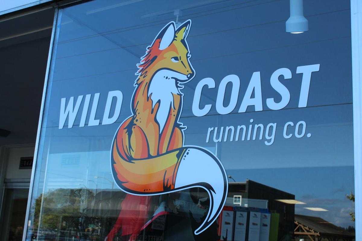 Wild Coast Running Company sign