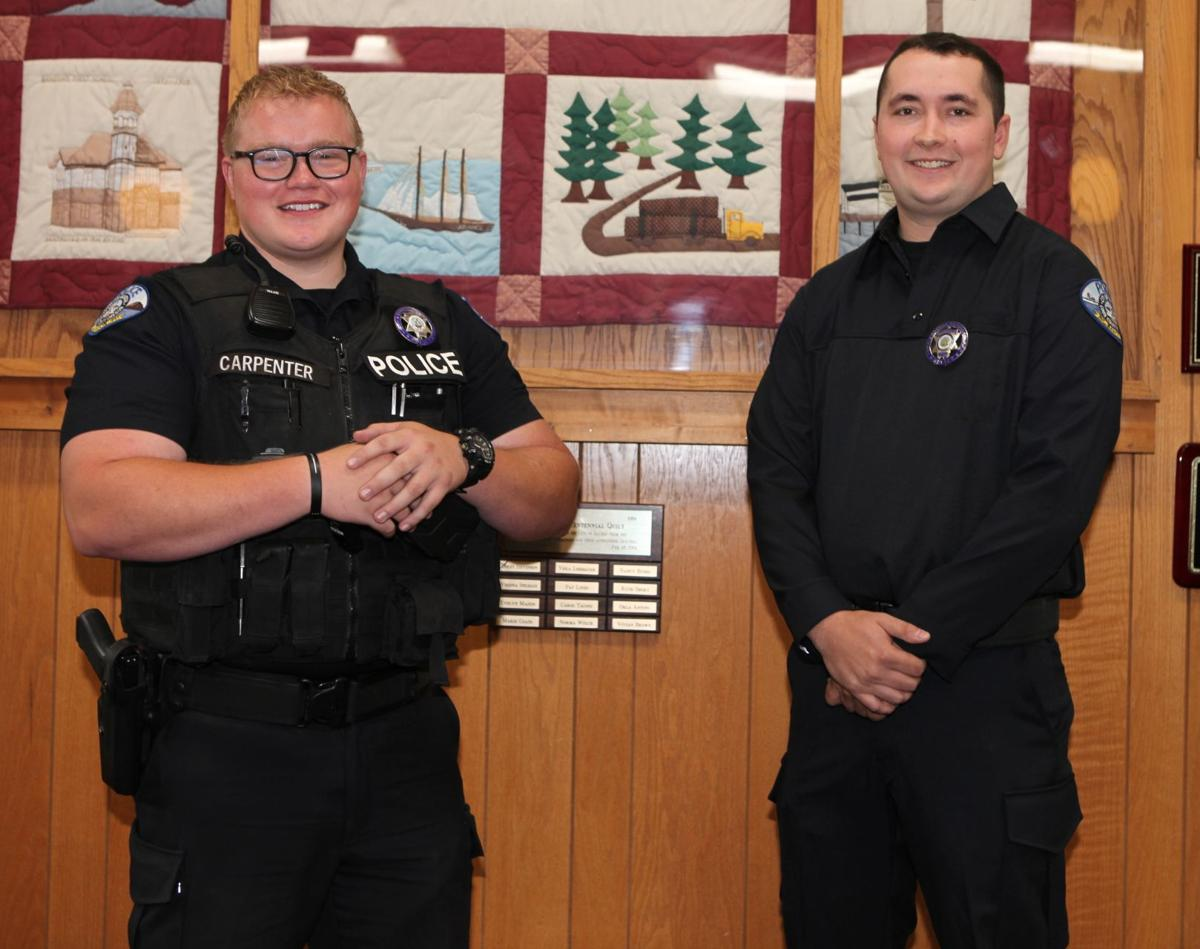New Bandon police officers