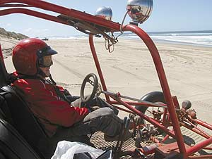 You're never too old for dune buggies