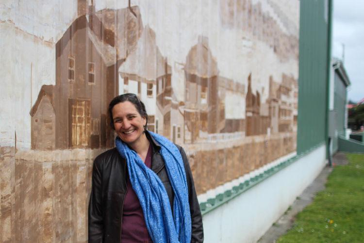 Artist Vicki Affatati