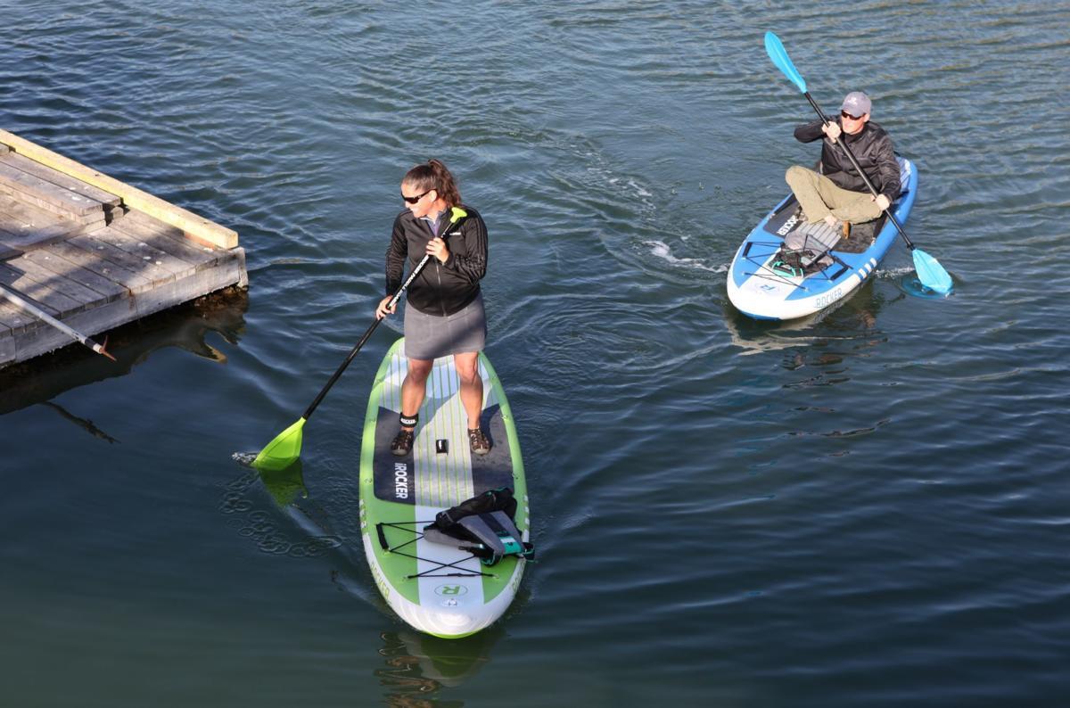 New kayak launch in Bandon