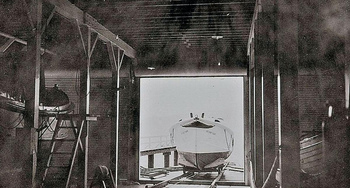 Historic U.S. Coast Guard Boathouse