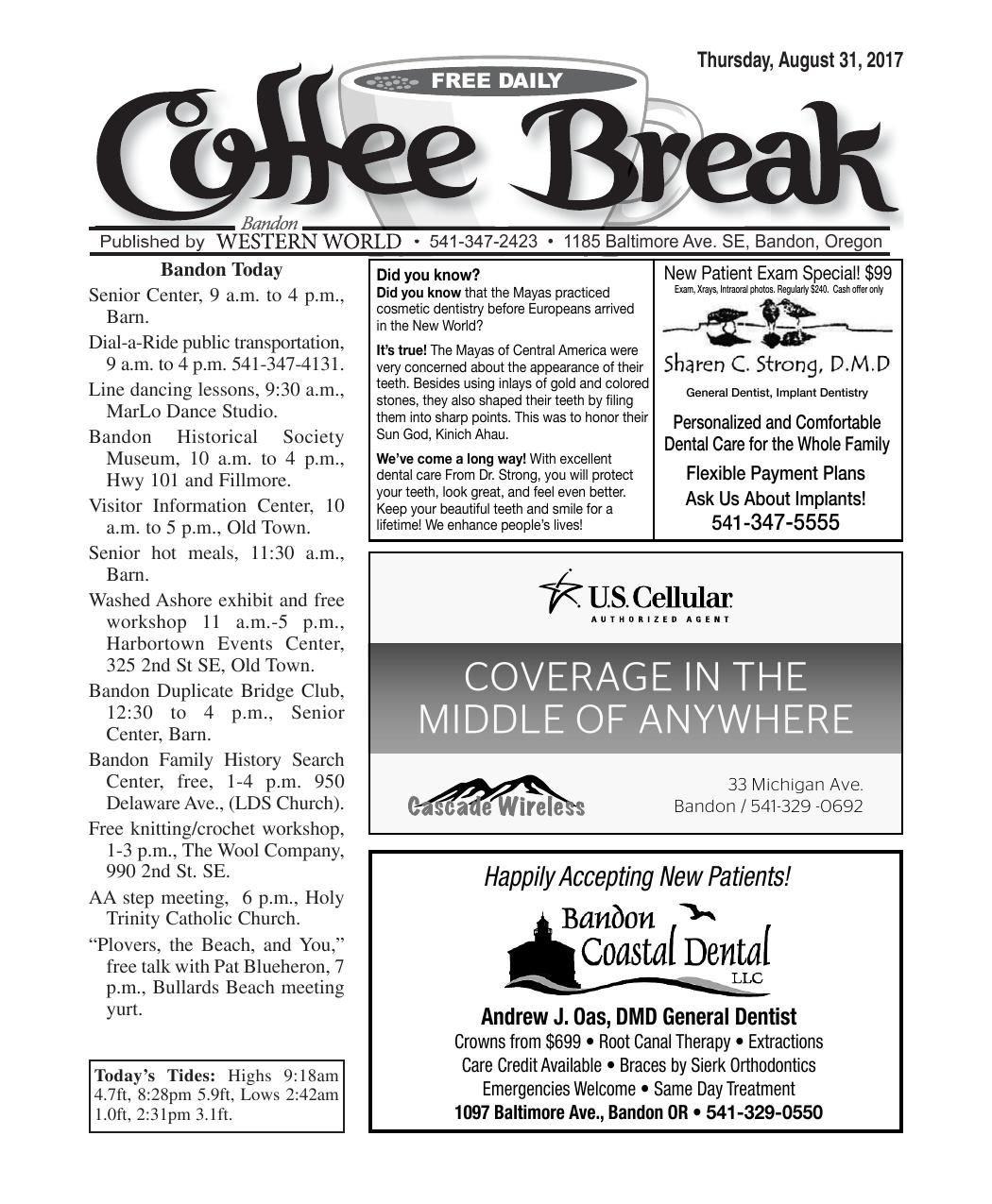 Aug. 31, 2017 Coffee Break.pdf