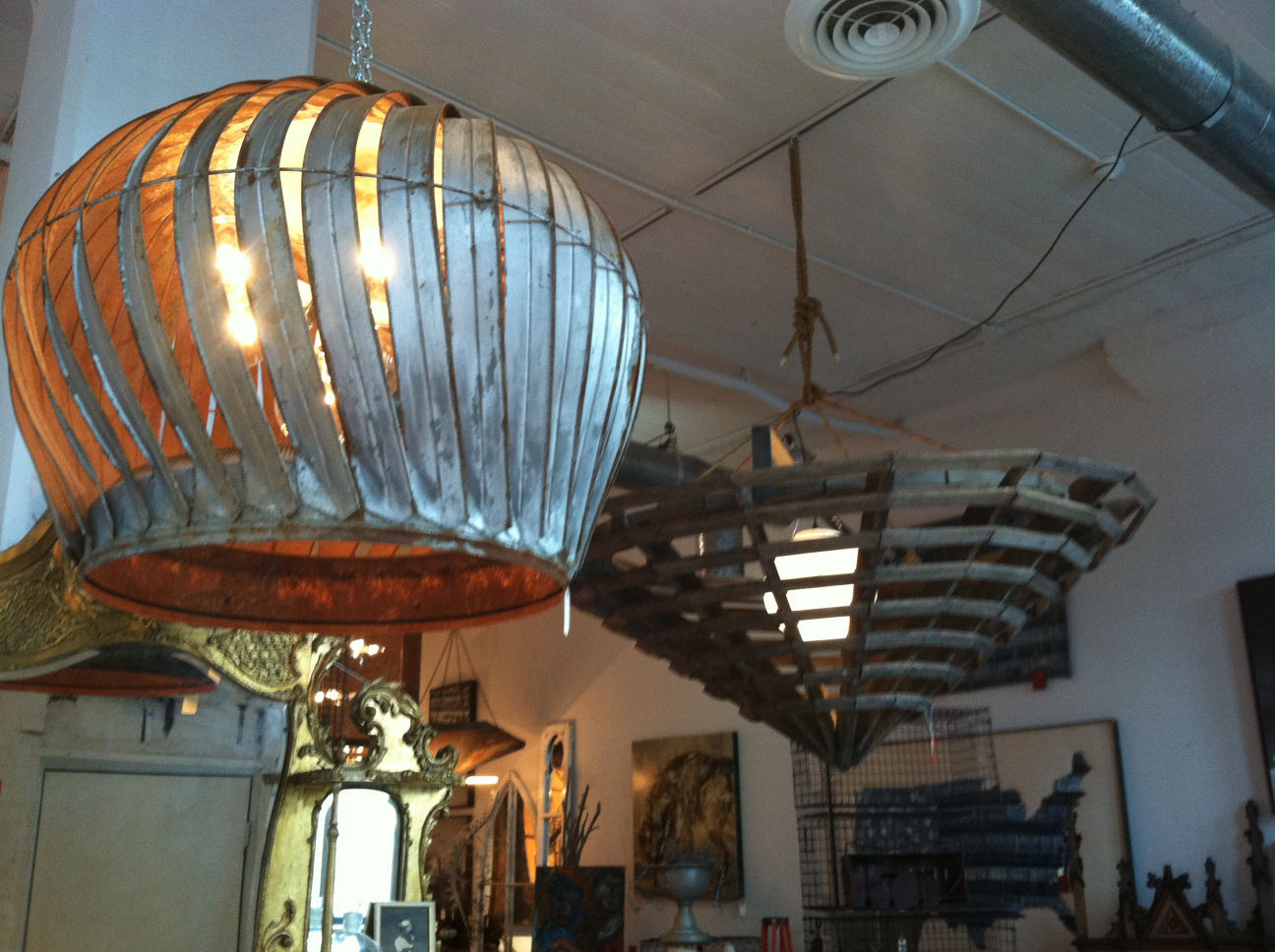 Fall Homes-Upcycled Lighting & Upcycling: Discarded objects reborn as light fixtures | South ... azcodes.com