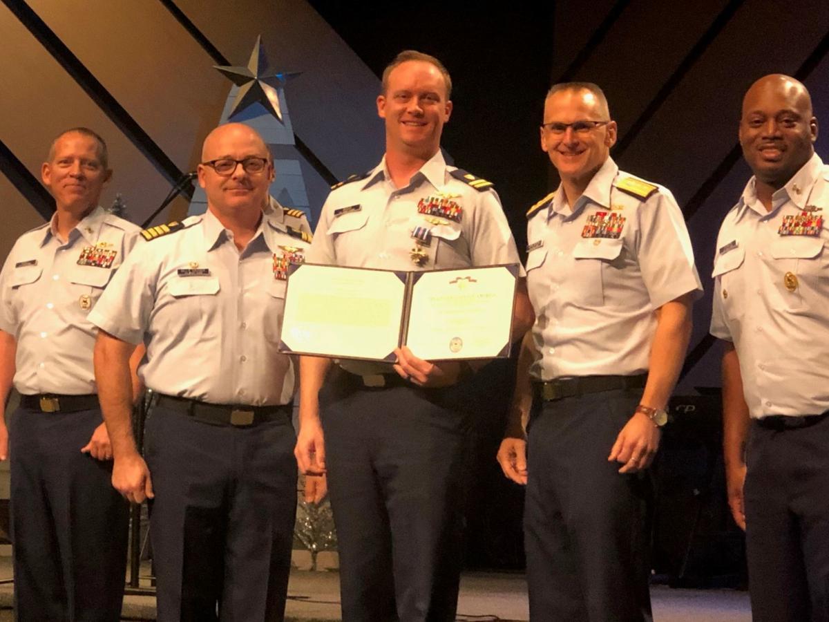Lt. John Briggs awarded