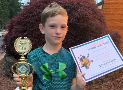 Spelling Bee winner Jack Taylor