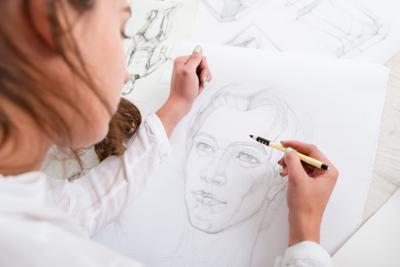 628064782 drawing portrait