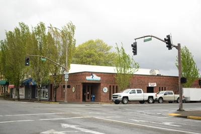 Fourth Street and Anderson Avenue, Downtown Coos Bay
