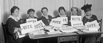 League of Women Voters, 1924